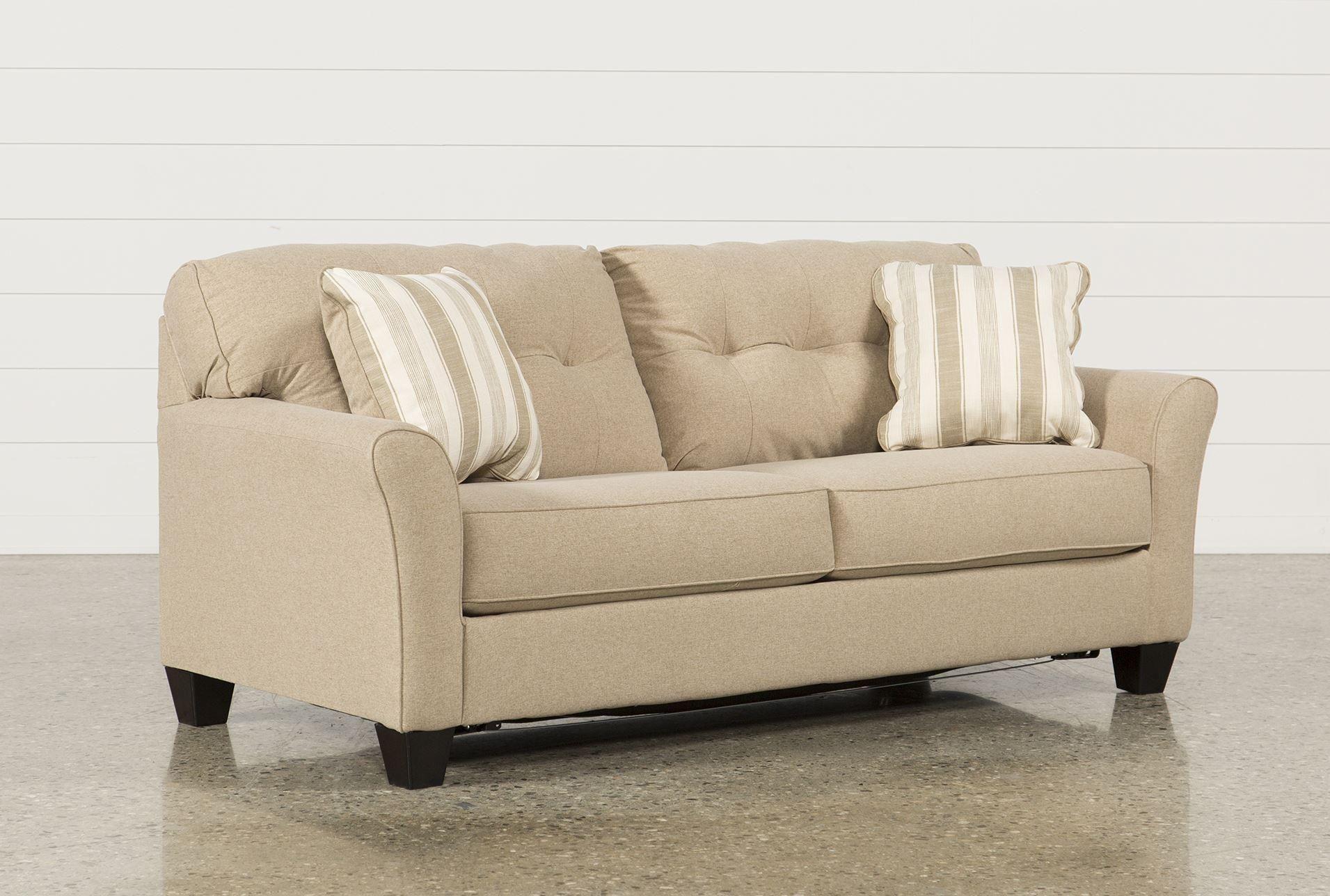 Best Laryn Khaki Queen Sofa Sleeper Sectional Sleeper Sofa 400 x 300
