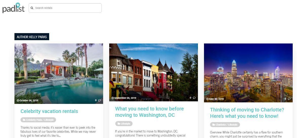 PadList in 2020 Digital footprint, Search site, Digital