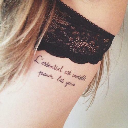 O Essencial E Invisivel Aos Olhos Tattoo Tatuagem Tatuagem