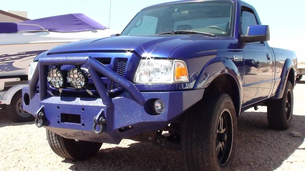 1998 2012 Ford Ranger Front Base Bumper Ford Ranger Truck 2003 Ford Ranger Ford Ranger