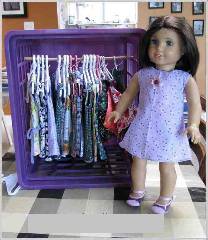 Exceptionnel 18 Doll Storage Ideas. Great Ideas For Storing All Of Our American Girl Doll  Stuff.