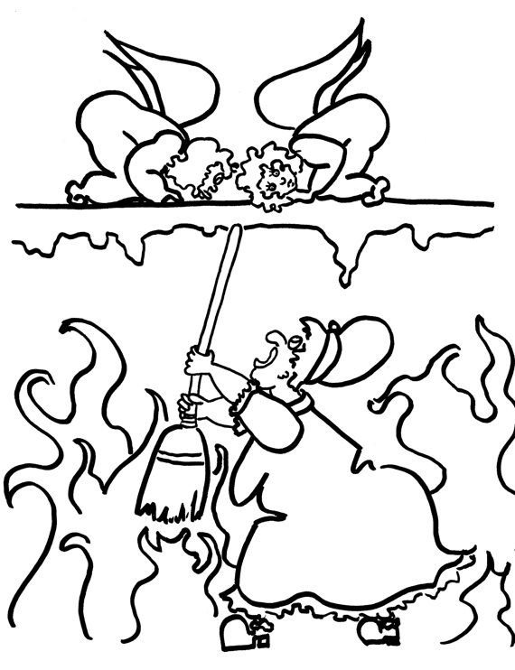 There will be Hell to Pay Funny Coloring Pages for by chubbyart