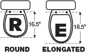 Elongated Vs Round Bowl Elongated Toilet Seat Elongated Bath