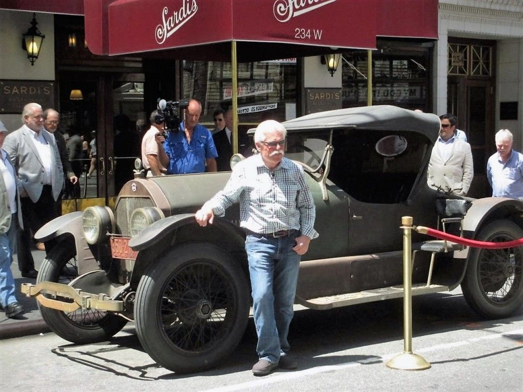 Wayne Carini, star of \'Chasing Classic Cars,\' with the 1921 Stutz ...