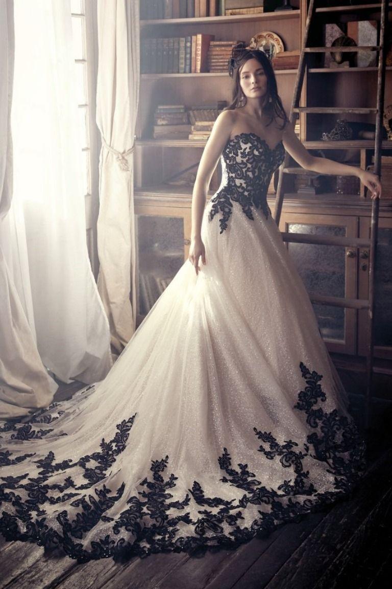 Out Of Sight Colorweddingdressesblack Fancy Wedding Dresses Black Lace Wedding Black Lace Wedding Dress [ 1152 x 768 Pixel ]