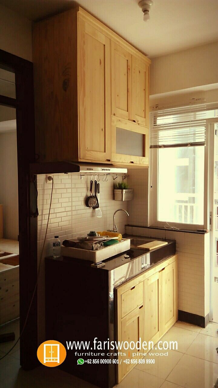 Kitchen Set Minimalis Solidwood Jatibelanda Info 085600900601