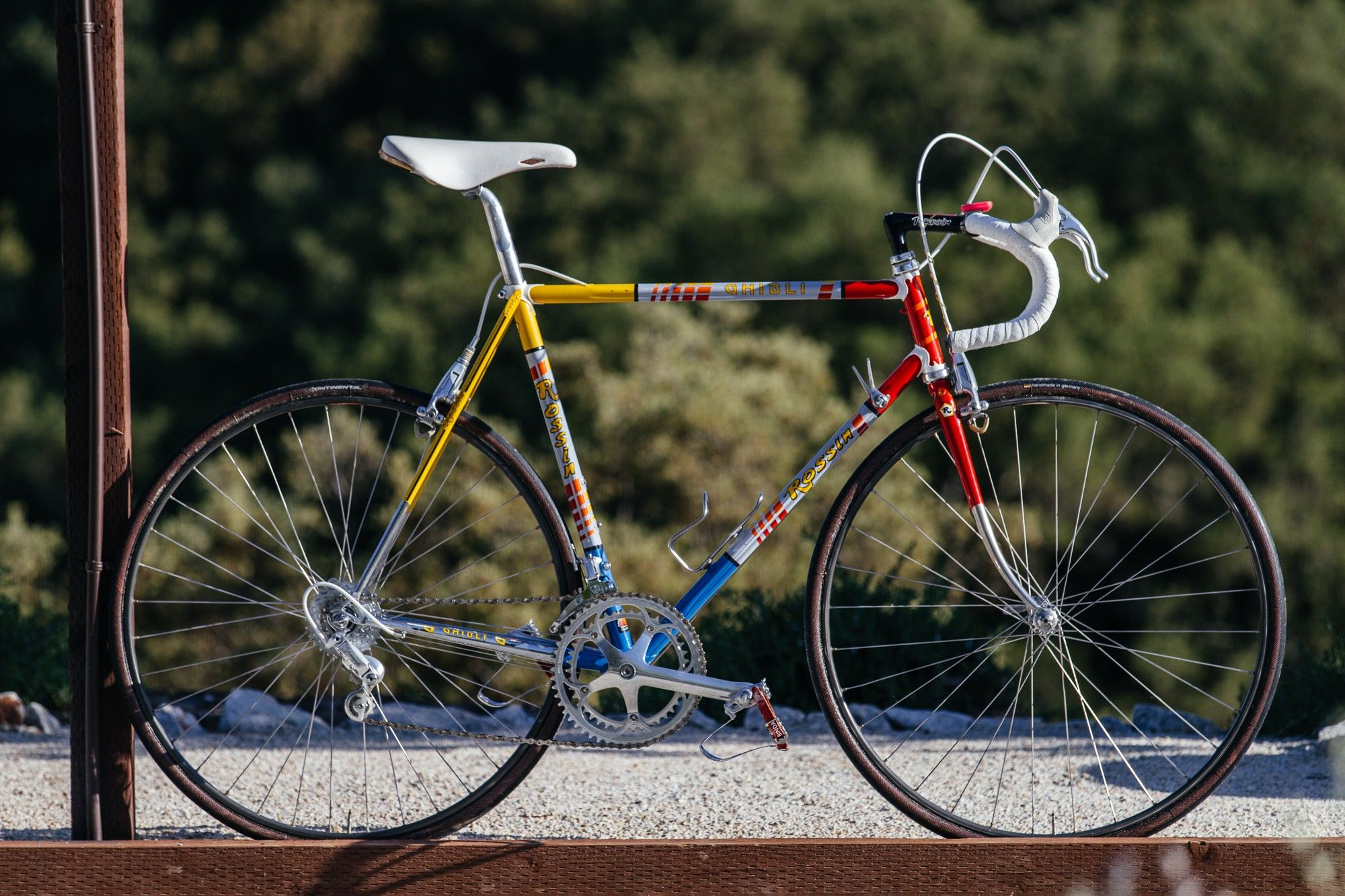 Eroica California Rides Mid 80 S Rossin Ghibli With C Record