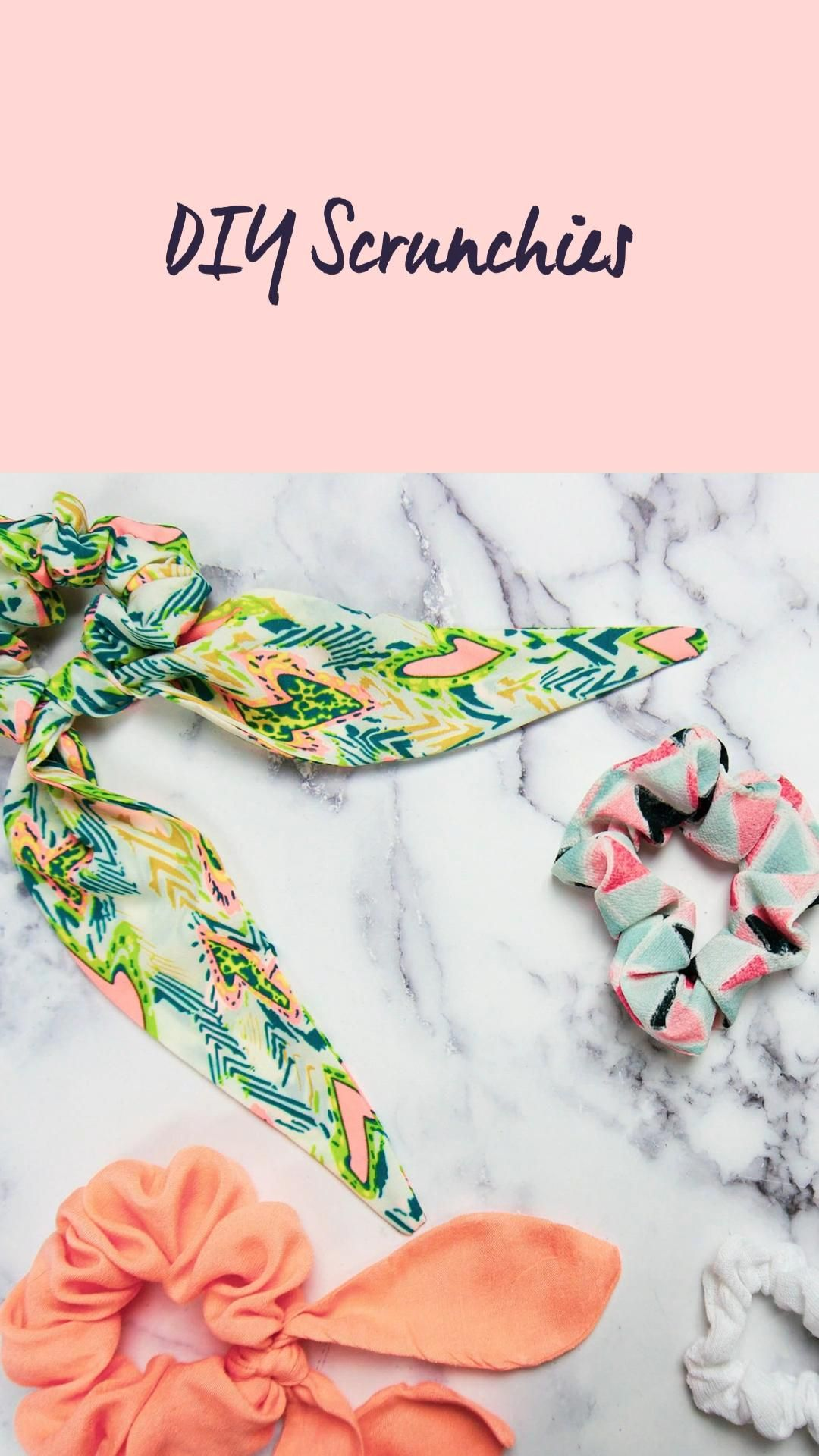 FREE DIY Scrunchies Pattern