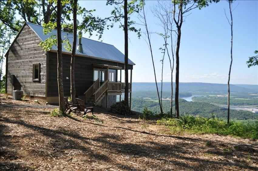 rentals cabin near tn alabama lookout friendly pet chattanooga mountain log cabins al