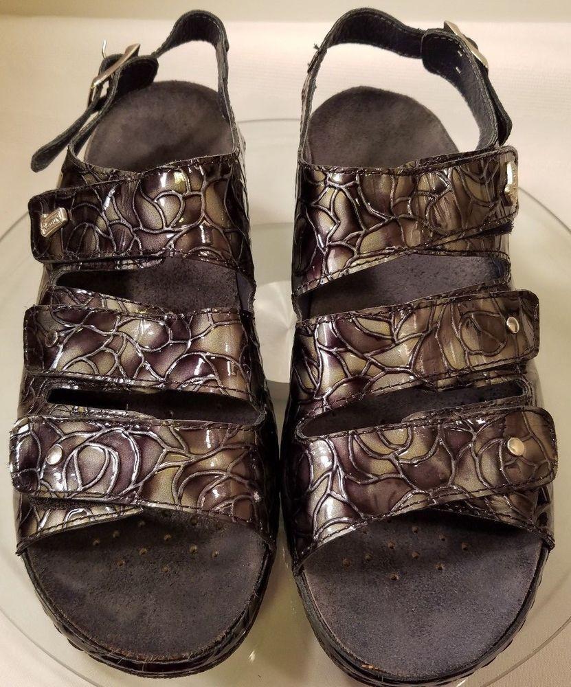 image comfort ece women helle larger sandal heeled comforter slide sale silver good combo high quality p shoes highheeled in