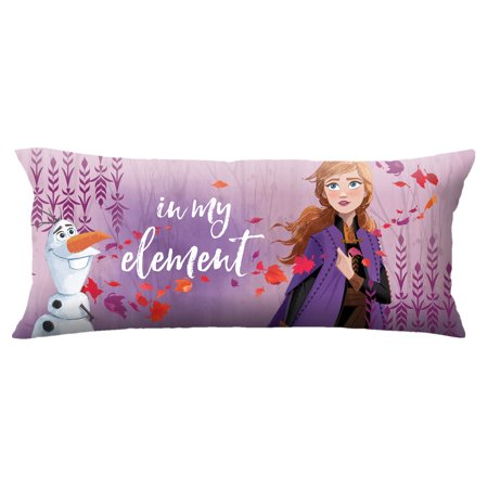 frozen themed bedroom body pillow