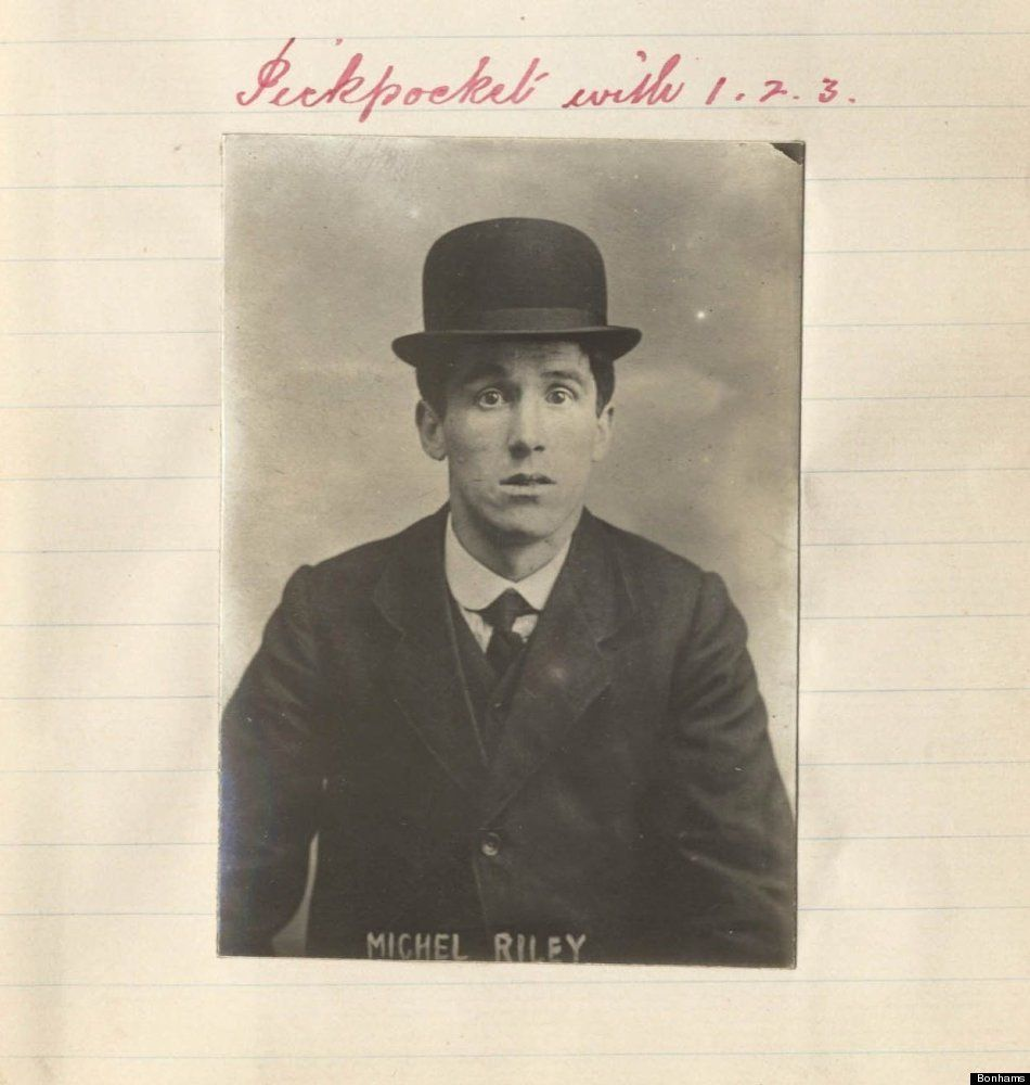 The vintage mugshots of shoplifters bank robbers and murderers from - Scars Seaman And Brothel Thieves Victorian Mugshots Go Up For Sale Mobsters