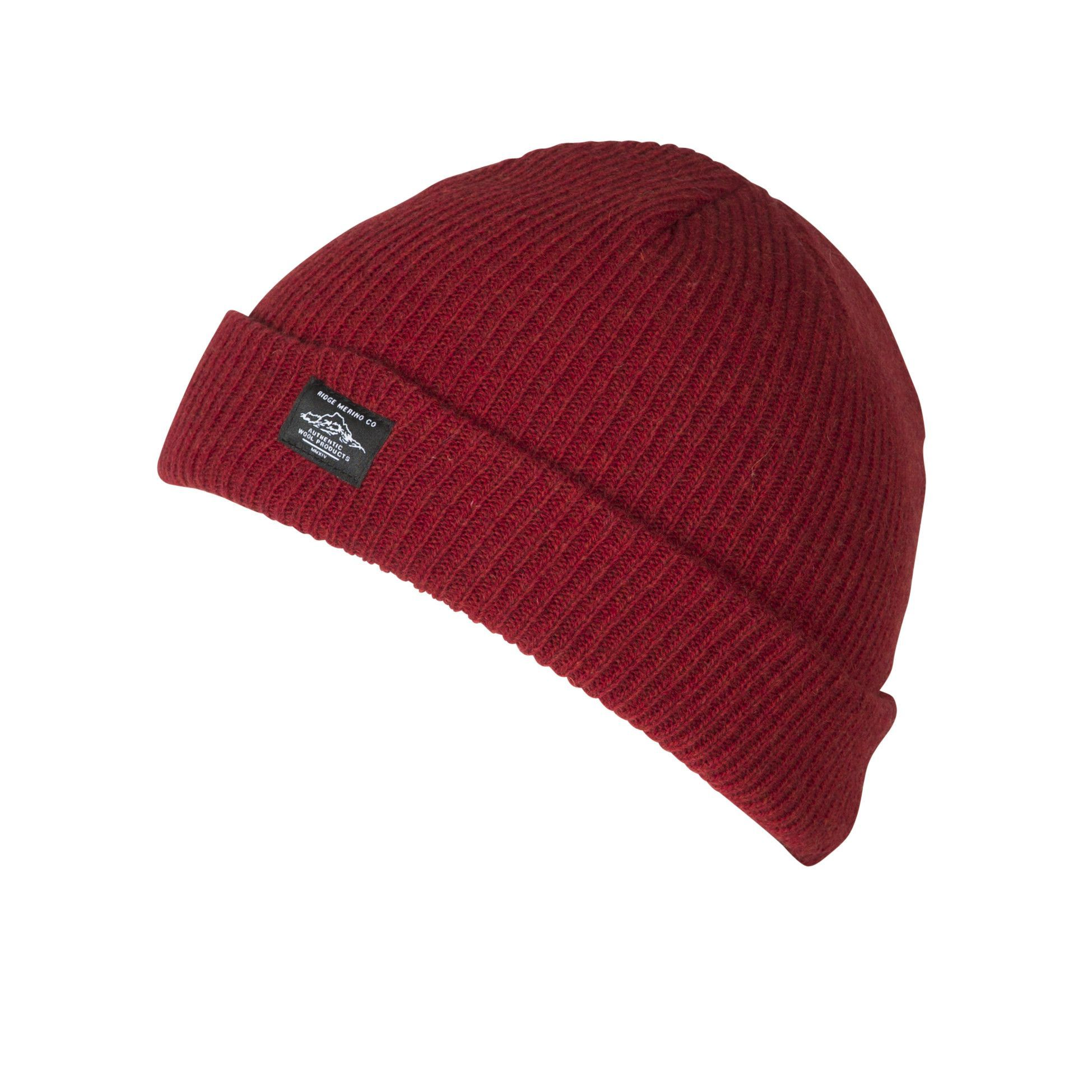 50fec3ecff8a4 The new Banner Mtn. Beanie is knit from 100% Merino wool heathered yarn.