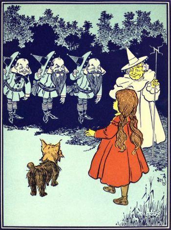 The Wonderful Wizard Of Oz 1900 The Wonderful Wizard Of Oz Wizard Of Oz Illustration