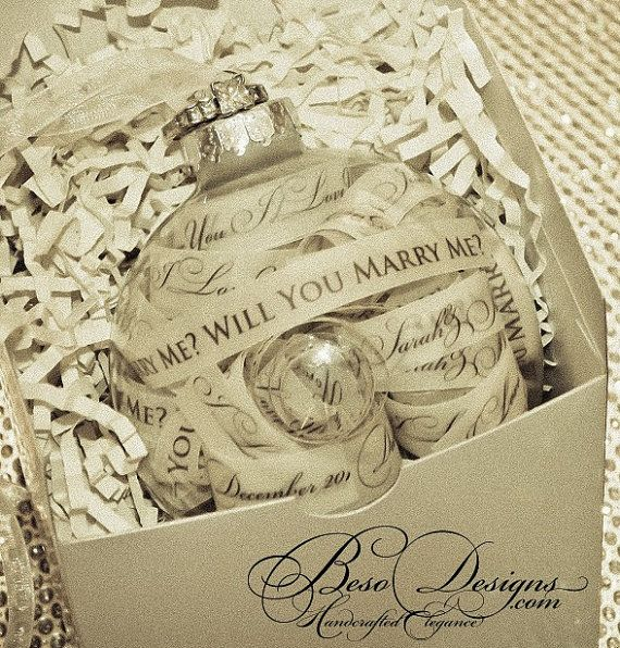 Will You Marry Me Proposal Keepsake with Gift Box by BesoDesigns