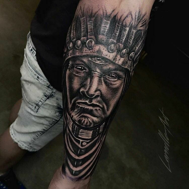 #tattoo #indiantattoo #chief