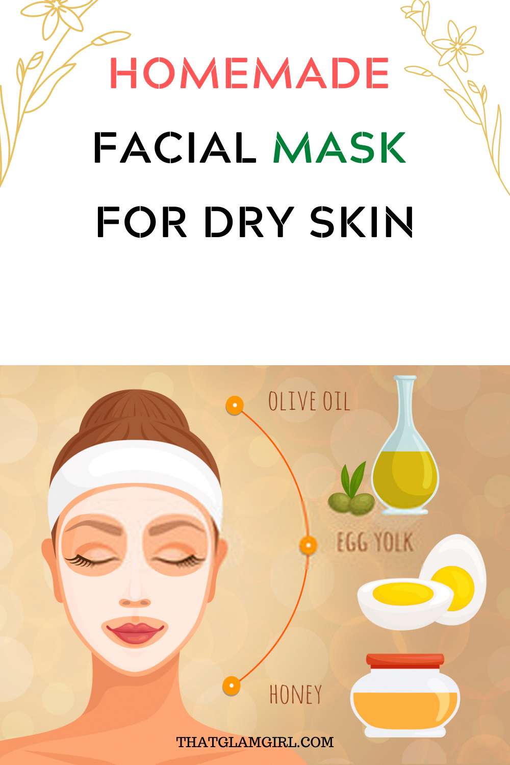9 inch circle face mask diy in 2020 Mask for dry skin