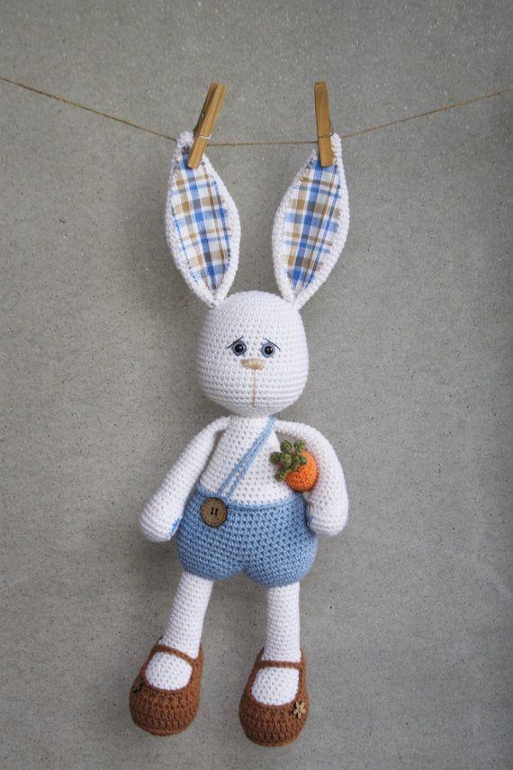 PATTERN Sissy bunny amigurumi pattern crochet pattern | Bastelideen ...