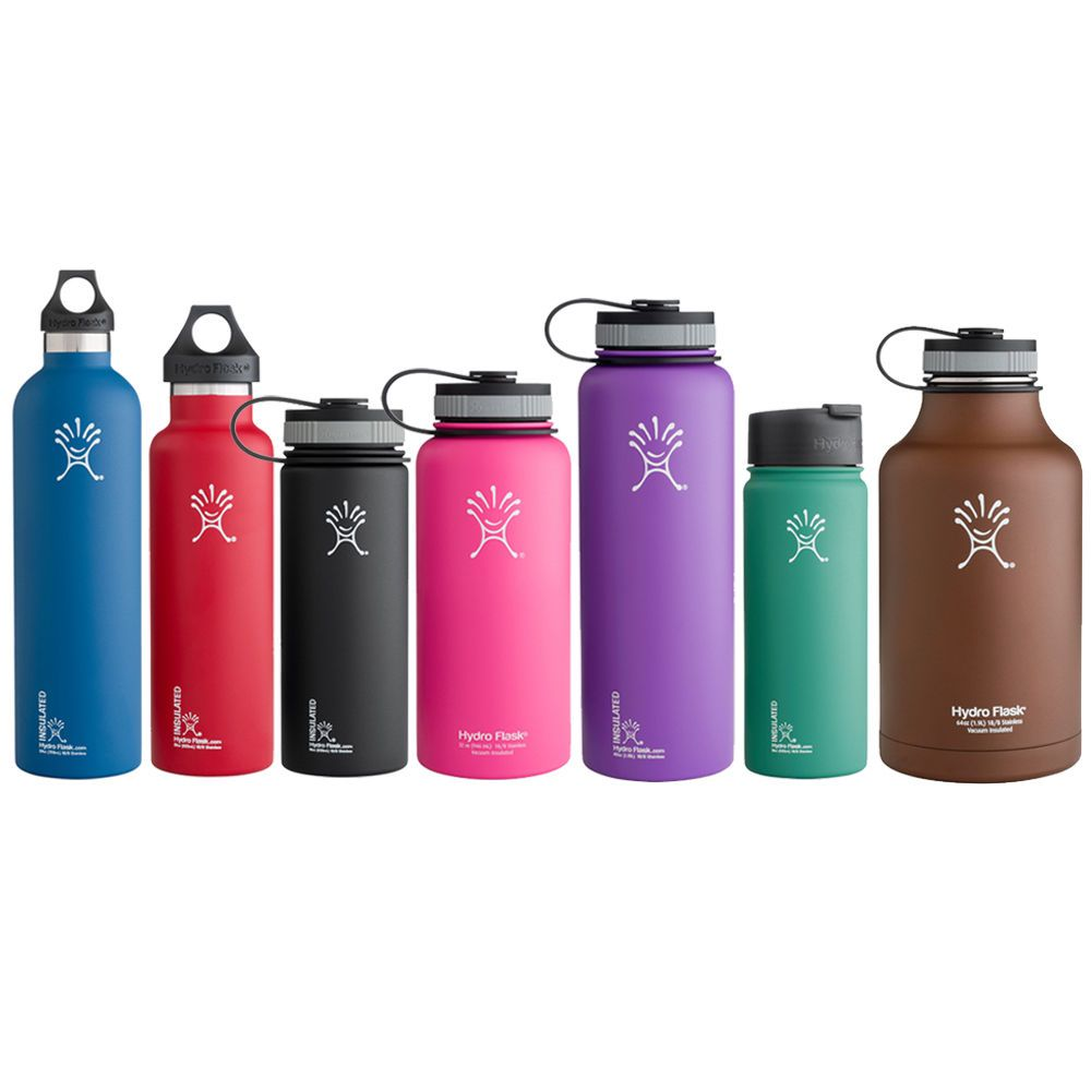 Hydro Flask Insulated Water Bottles Pick Your Size + Cap