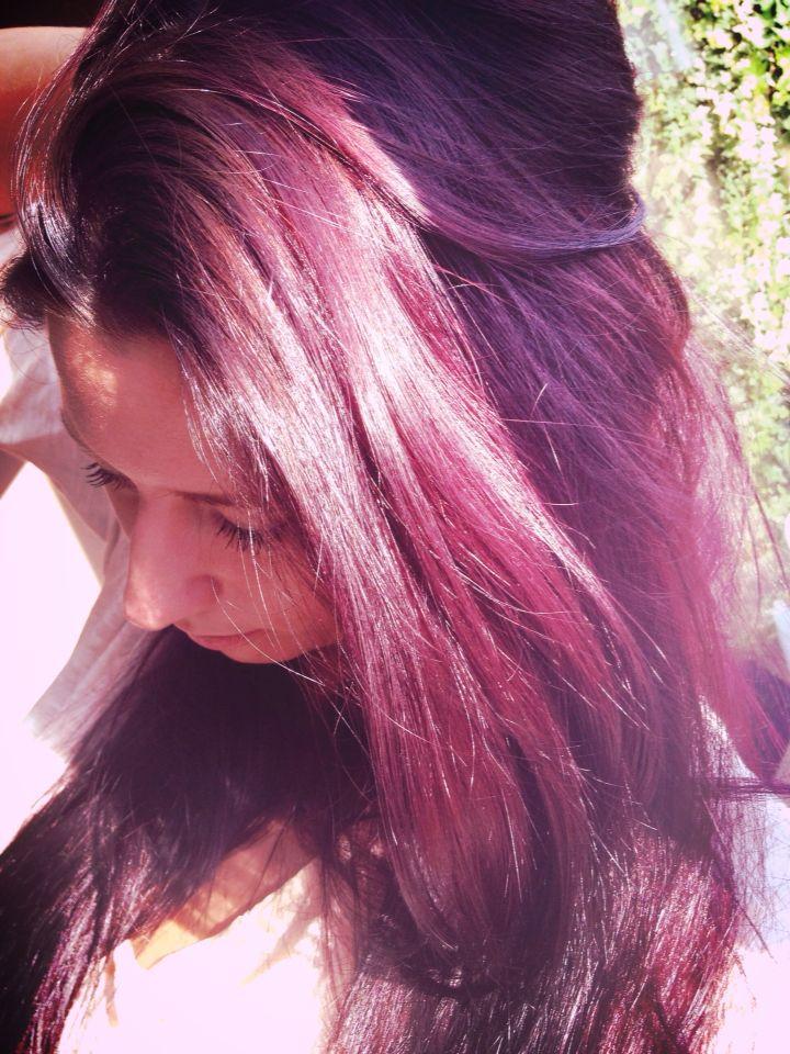 #purple #hair #colour