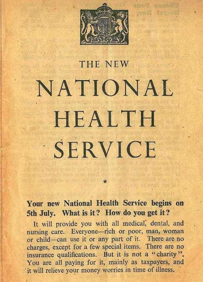 Image result for national health service 1948