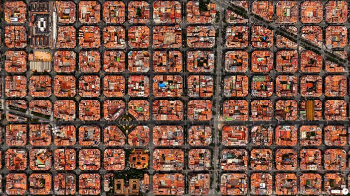Eixample District Barcelona Spain N E Pictures - Barcelona map eixample district