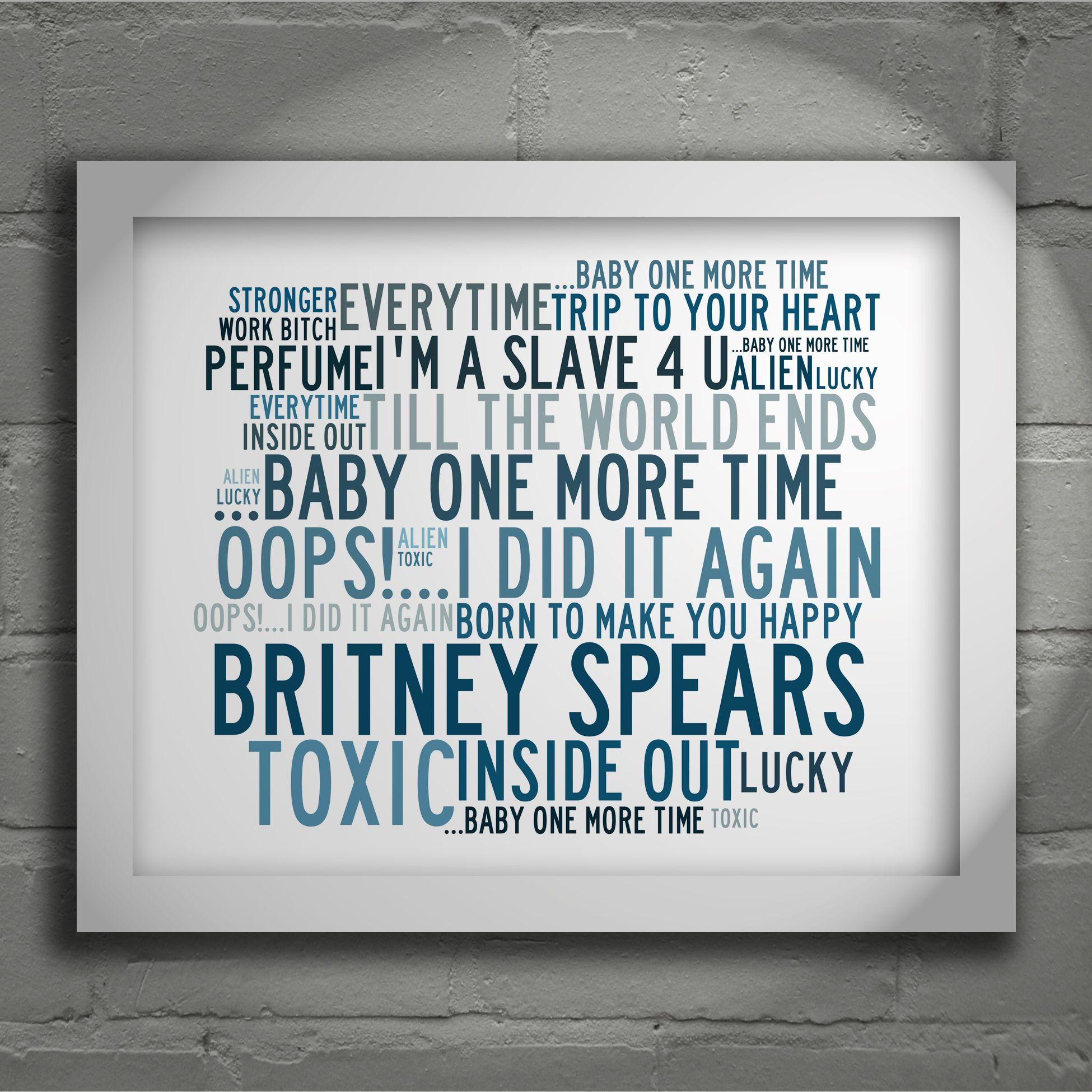 Pin On Britney Spears Fan Art