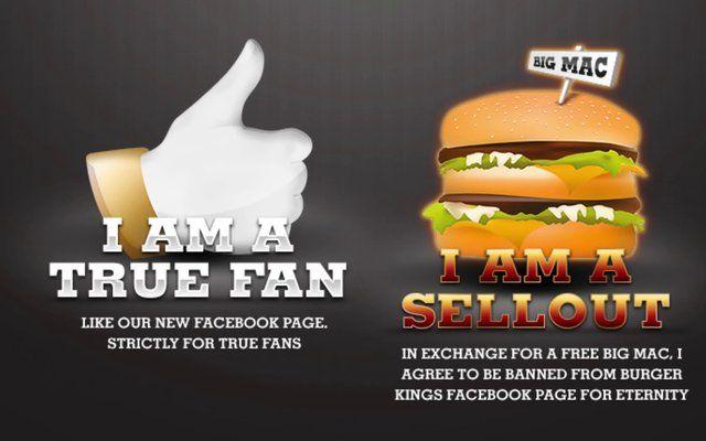 Burgerking Sellout Films Burger King Cliente Regalos