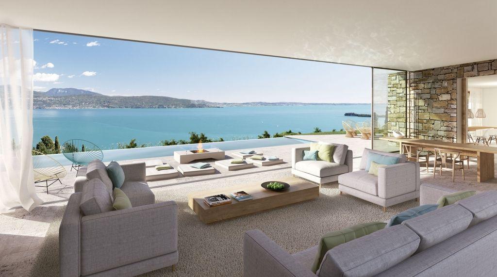villa eden gardasee luxusimmobilien | innenarchitektur | pinterest, Innenarchitektur ideen