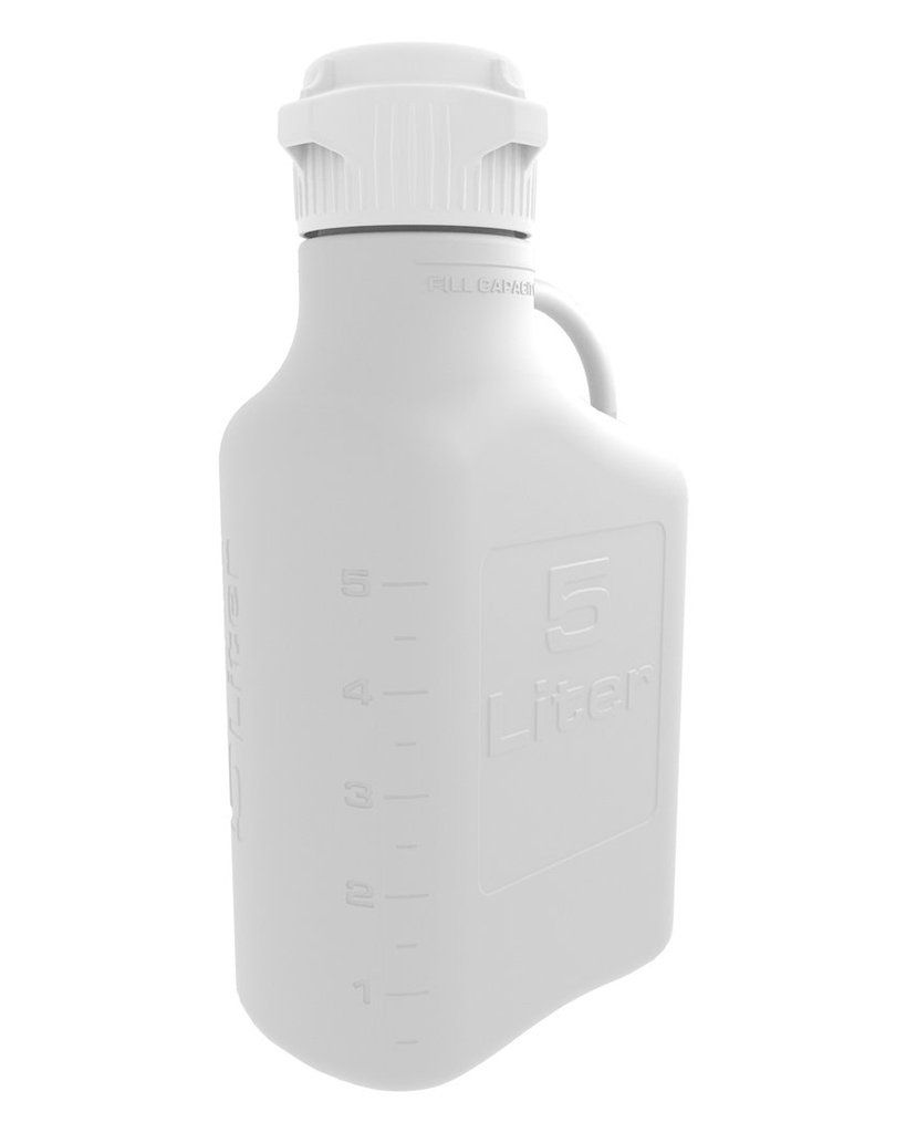 5l 1 Gal Hdpe Carboy With 83mm Cap Bottle Cap Container