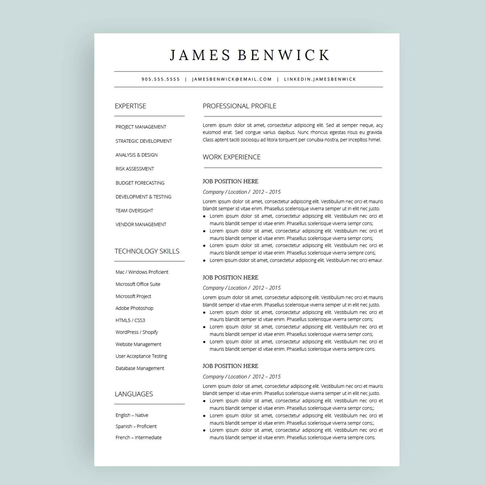 Templates For Resumes Google Docs in 2020 Resume, Resume