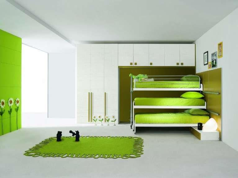 Camerette Strane ~ Camerette bambini piccoli spazi idea piccola cameretta condivisa