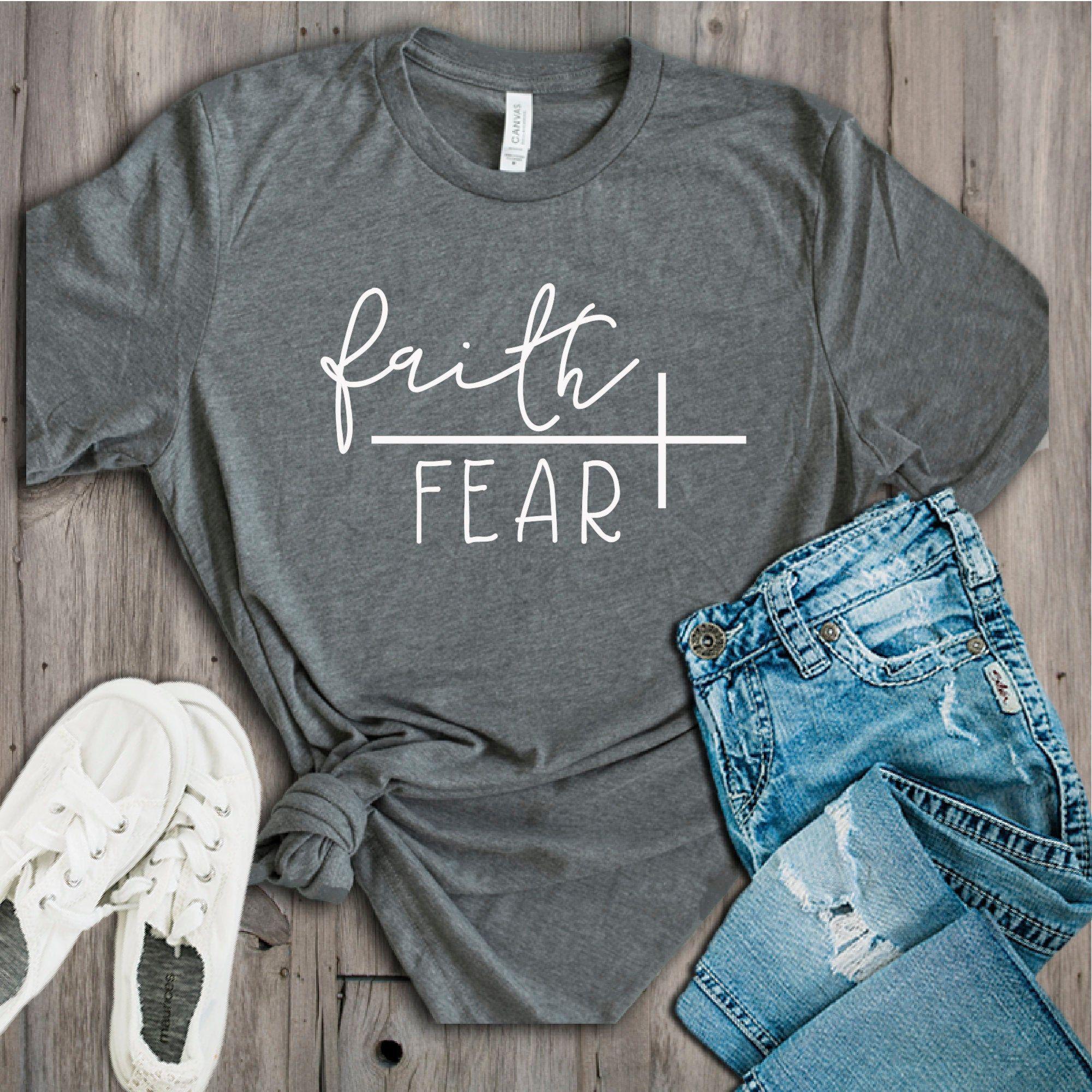 Faith Over Fear SVG - Faith SVG - Religious SVG -
