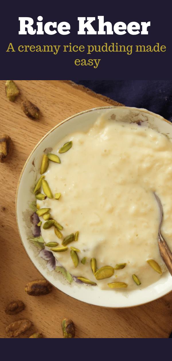 Chawal Ki Kheer Pakistani Rice Pudding Flour Spice Recipe Indian Kheer Recipe Pakistani Rice Rice Pudding