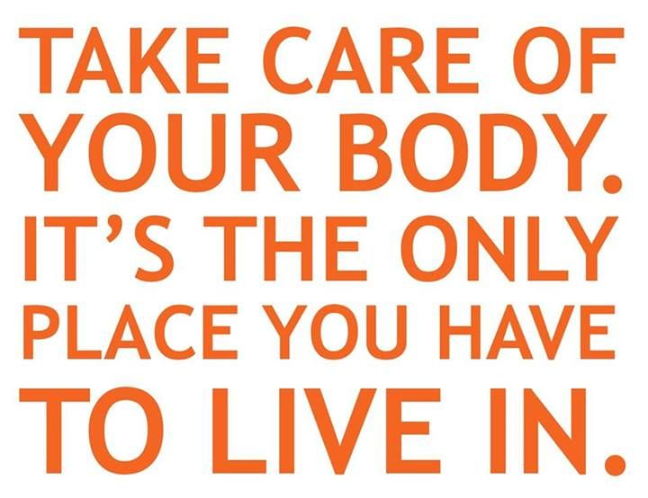 Take care of your body for free!#yesfor