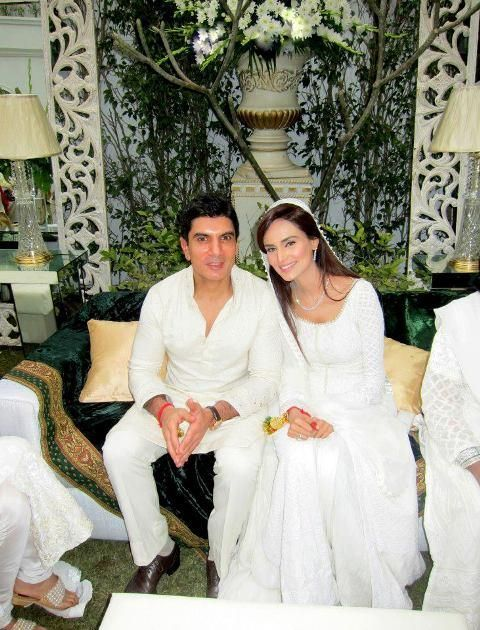 Pakistani super model Mehreen Syed got married with a famous
