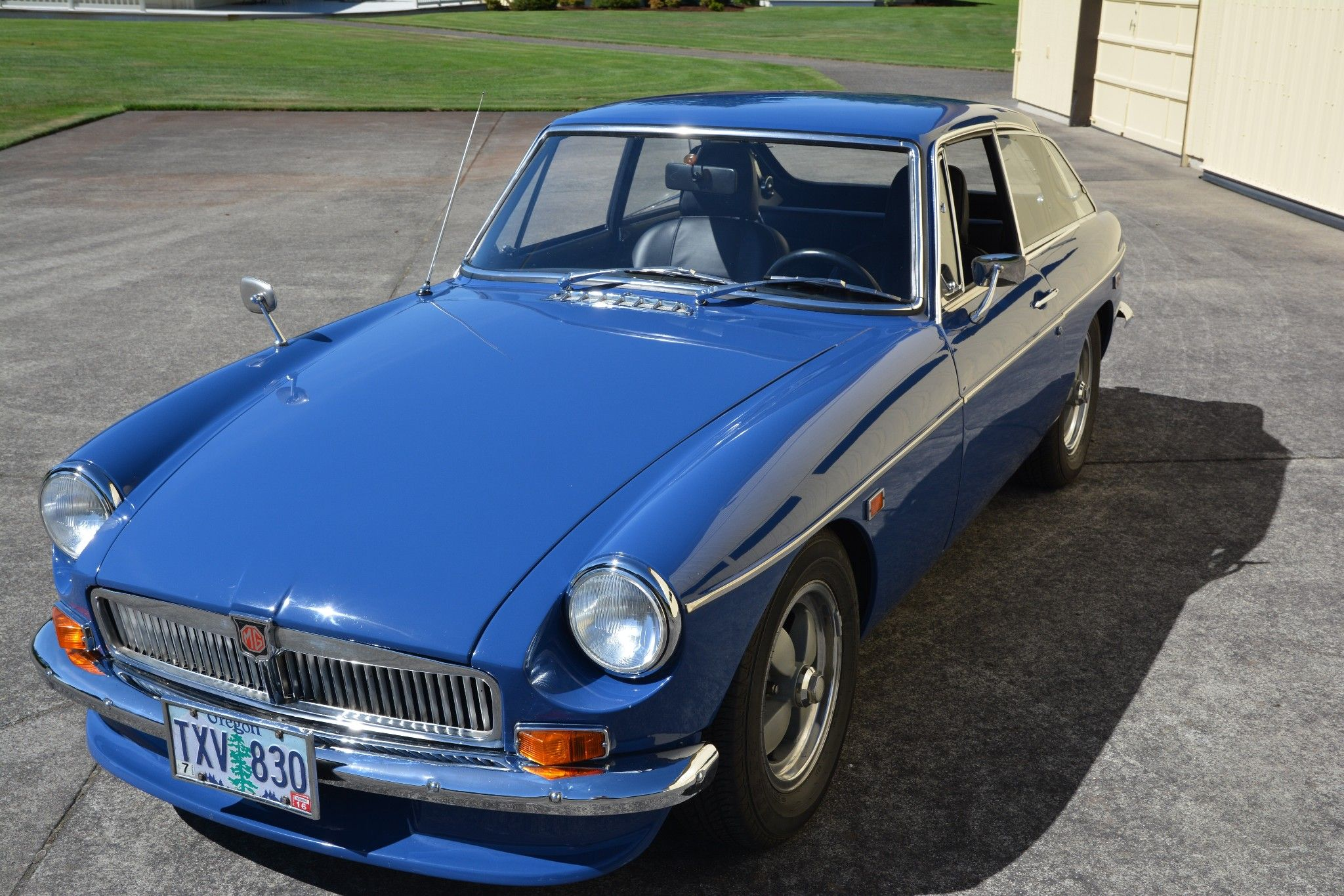 This 1969 MGB GT is a nice driver-quality example that features ...