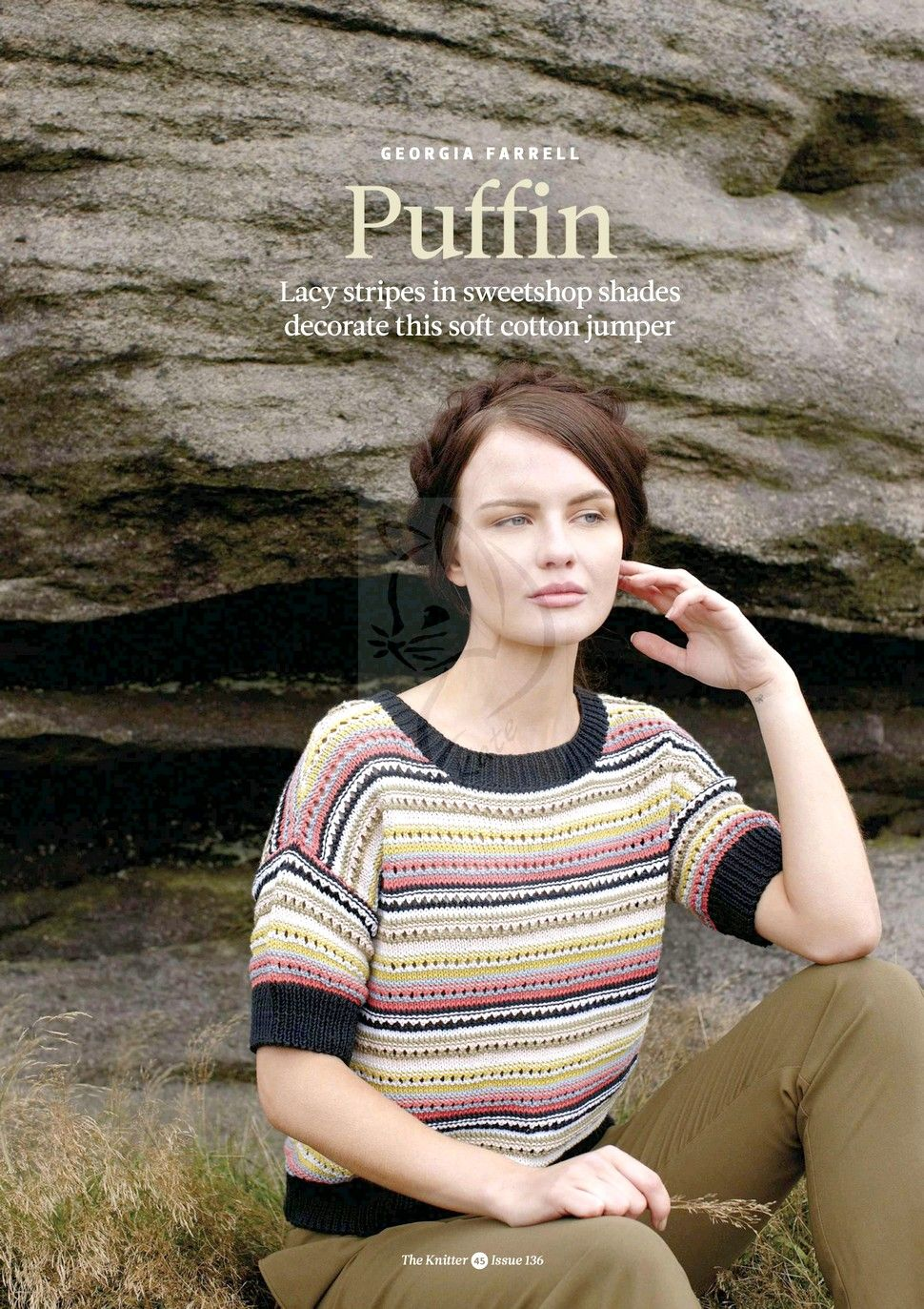 полосатый пуловер вязание спицами обсуждение на Liveinternet