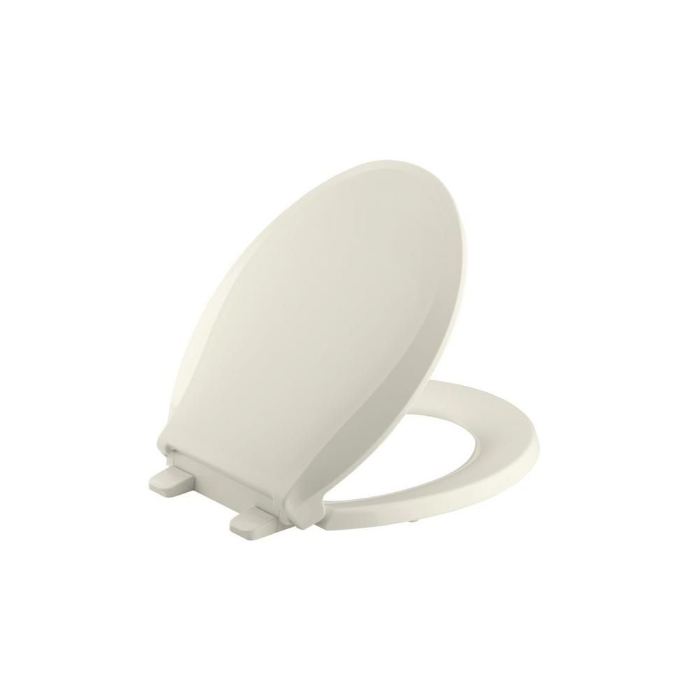 Magnificent Cachet Round Closed Front Toilet Seat In Biscuit Products Machost Co Dining Chair Design Ideas Machostcouk