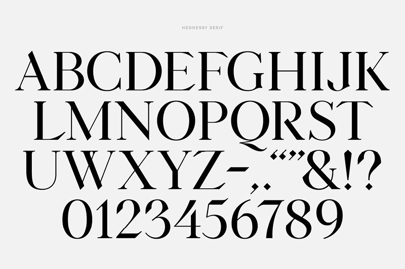 Hennessy Serif   T Y P E   Typography fonts, Serif typeface