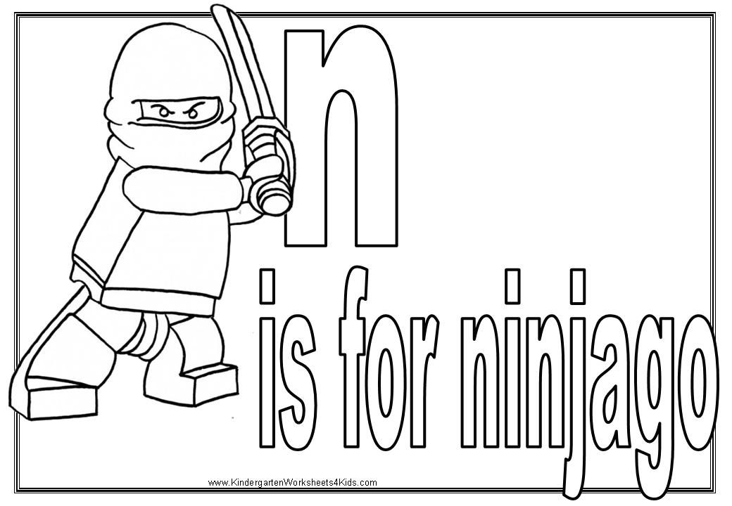 ninjago coloring worksheets | Education - Language Arts | Pinterest