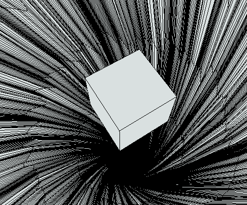 Cube In Wormhold 3d Model 3d Cube Model