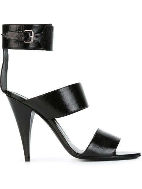 Shop Saint Laurent 'Fetish' sandals in Eraldo from the world's best  independent boutiques at