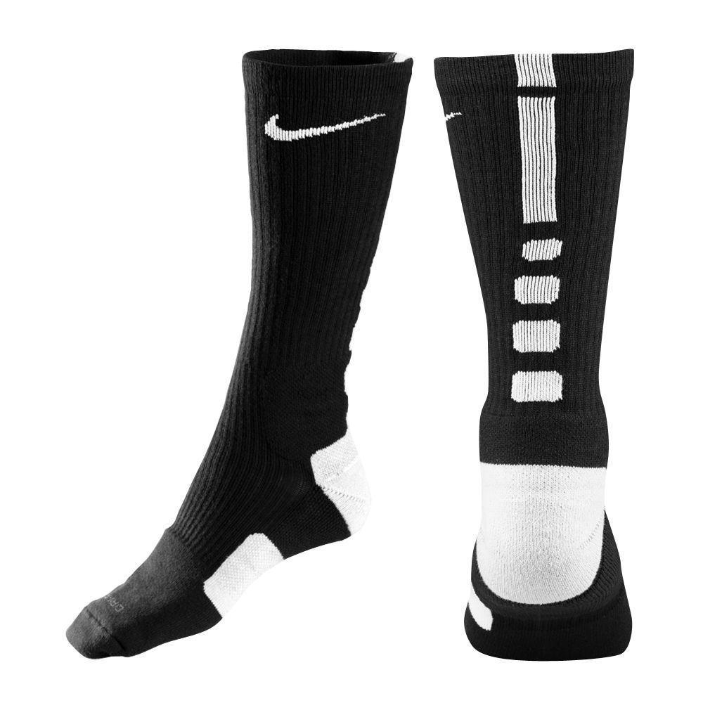 Nike Elite Basketball Crew Socks Black White Size Small Sx4586 007 Nike Athletic Nike Elite Socks Nike Elite Elite Socks