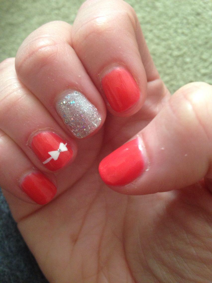 Pink bow nails | Nails, Pink, Bows