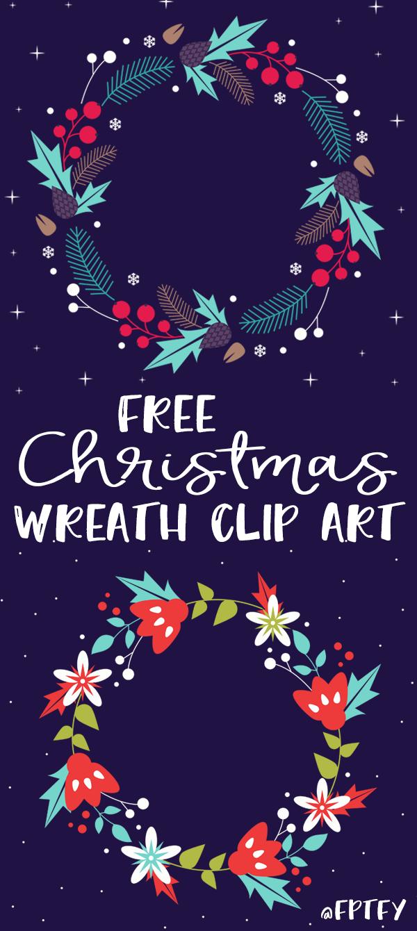 Free Christmas Wreath Clip Art Free Pretty Things For You Christmas Wreath Clipart Wreath Clip Art Christmas Graphics