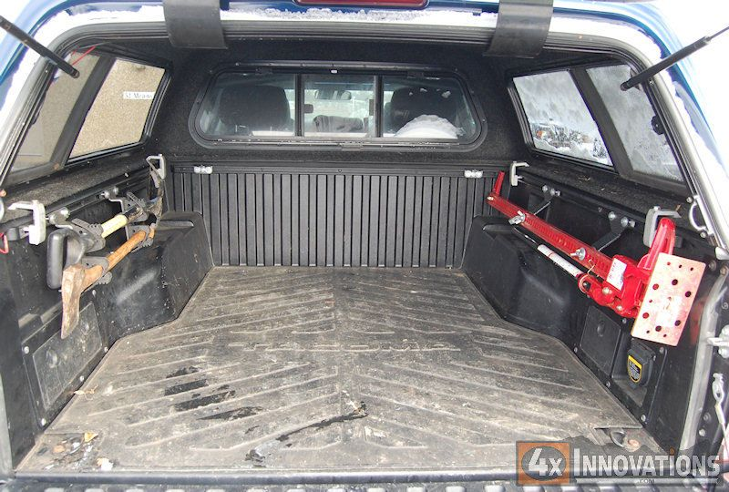 2005 2018 Tacoma Bed Rail Double Quick Fist Mount