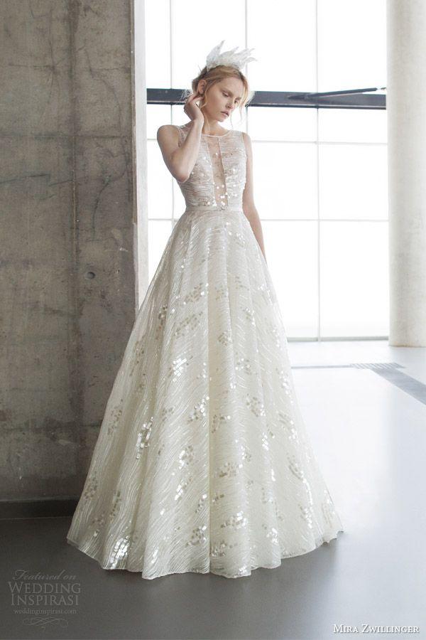 Mira Zwillinger 2016 Wedding Dresses Stardust Bridal Collection Wedding Inspirasi 2016 Wedding Dresses Wedding Dresses Beautiful Wedding Gowns