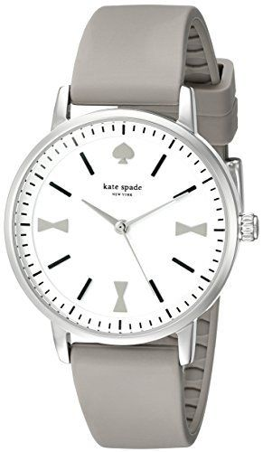 kate spade new york Women's 1YRU0869 Crosby Analog Display Japanese Quartz Grey Watch, http://www.amazon.com/dp/B00WDVUXLK/ref=cm_sw_r_pi_awdm_BtXjwb1NN1QZ8