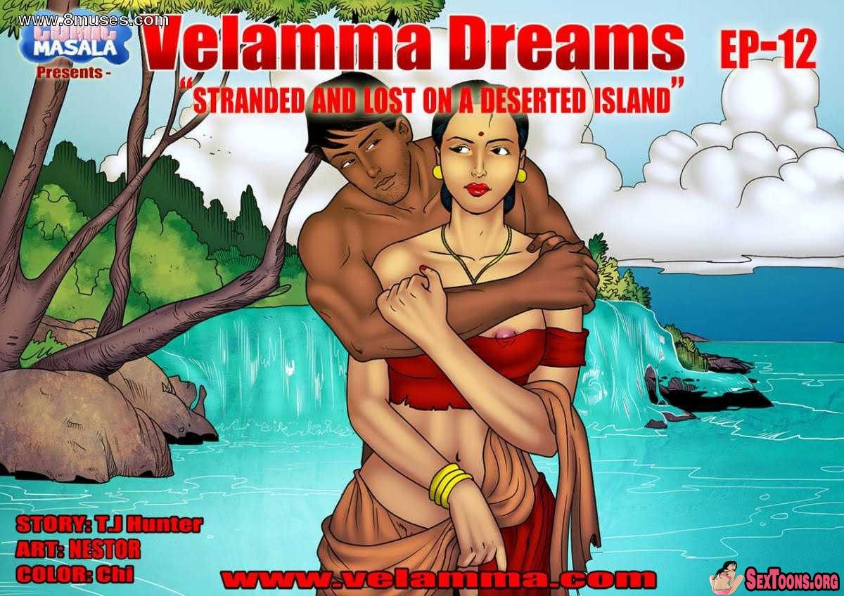 velamma dreams – episode 12 – stranded and lost on a deserted island